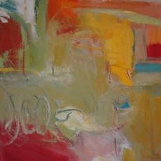 La Boca #1<br>2008<br>20 x 20<br>Oil, on canvas&lt;br&gt;&lt;em&gt;&lt;/em&gt;