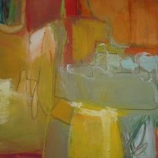La Boca #2<br>2008<br>20 x 20<br>Oil, on canvas&lt;br&gt;&lt;em&gt;&lt;/em&gt;