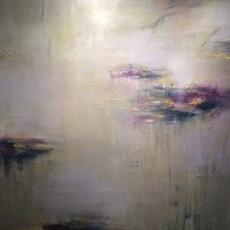 Lily Pond / El Camino Real<br>2016<br>60 x 72<br>Oil, on canvas&lt;br&gt;&lt;em&gt;&lt;/em&gt;