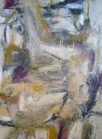 Muneca Sin Brazo<br>2011<br>40x30<br>Oil, wax, collage on canvas&lt;br&gt;&lt;em&gt;&lt;/em&gt;